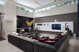 Neutral Color Scheme For Warm Family Room Design Ideas With Chrome - Color schemes for family room
