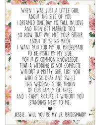 bridesmaid invitation amazing deal on will you be my jr bridesmaid card junior