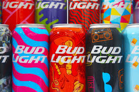 bud light in the can here s how bud light designed 200 000 different colorful cans for