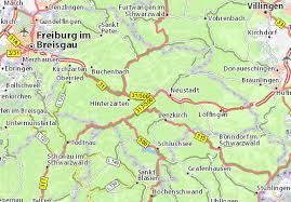 map of freiburg titisee map detailed maps for the city of titisee viamichelin