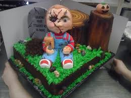 chucky doll cake cakes pinterest 21st cake cake and food