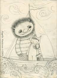 angelato illustration friday skinny where the wild things are