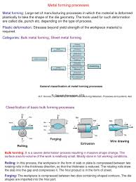 metal forming processes full pdf extrusion forging