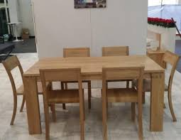 solid oak table with 6 chairs solid oak dining table with 6 chairs by boksit joint stock co