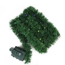 18 pre lit b o green pine artificial garland multi