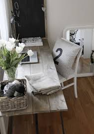 brilliant diy desk design for home office rustic reclaimed wood