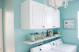 How To Decorate A Laundry Room Decorate To Make Doing Laundry Easier Custom Closets Direct
