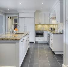 tiled kitchen floors ideas gray tile kitchen floor kitchen cintascorner white kitchen gray