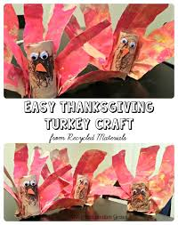 toilet paper roll crafts simpe thanksgiving turkey craft