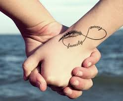 36 best family infinity tattoo with words images on pinterest