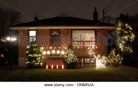christmas lights and decorations decorated like holly and