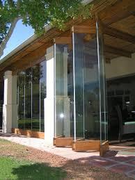 Frameless Patio Doors Frameless Folding Door Pinterest Doors Patios And House