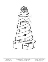 printable lighthouse coloring pages lighthouse at milliande printables