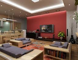 living room and dining room together dining room cool brown rectangle modern wood living room and