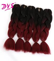 buy hair extensions buy deyngs 24inch ombre kanekalon braiding hair extensions two