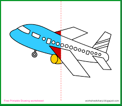aeroplane drawing for kids free download clip art free clip
