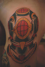 new diving helmet tattoo design photo 1 photo pictures and