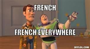 French Meme - x x everywhere meme generator french french everywhere d41d8c jpg