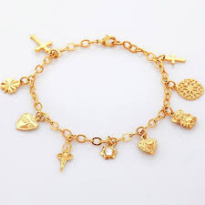 gold bracelet with charms images 32 stunning heart charm bracelets eternity jewelry jpg