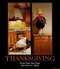 demotivational poster thanksgiving
