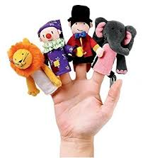 circus puppets manhattan a day at the circus finger puppets 10cm