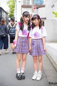 harajuku halloween costume peco club girls in harajuku w matching bubbles plaid skirts