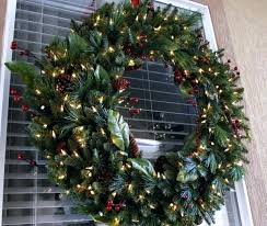outdoor christmas garland with lights outdoor christmas wreaths iamfiss com