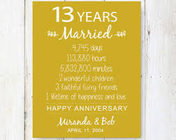 13th anniversary gifts for him 15 anniversary gift chalkboard 15 years story gift
