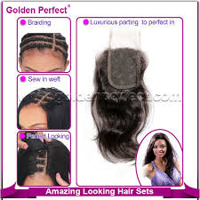sew in with lace closure wholesale and v shaped lace front closure with
