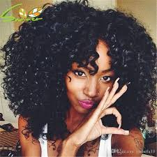 how to color natural afro textured hair afro kinky curly wig full bangs wig newest fashion indian hair