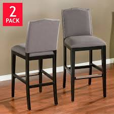 34 bar stool seat height baldwin 34 barstool 2 pack
