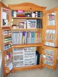 Closet Craft Room - craft room organizing ideascraftroom organization unique storage
