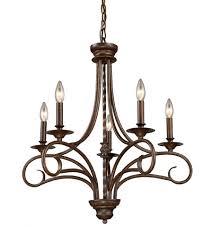 5 light bronze chandelier elk 15042 5 gloucester 5 light 24 inch antique bronze chandelier
