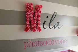 wall designs name wall s modern baby nursery diy wall