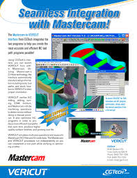 mastercam to vericut interface cgtech pdf catalogue