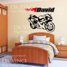 custom vinyl wall decals custom girls name vinyl wall sticker motorcycle sportbike racing bike wall room custom name vinyl wall decal sticker ebay