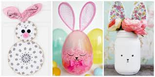 easter rabbits decorations 12 diy easter bunny decor crafts for merry monday 196