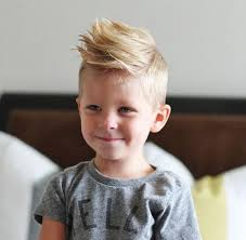 kids spike hairstyle cool haistyles for little boys with light mohawk style with long