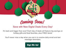 sign up for kroger s 25 merry days gift card reselling