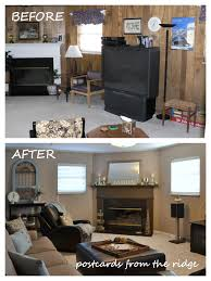 Painting Wall Paneling Tutorial How To Paint Paneling Like A Pro Postcards From The Ridge