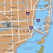 miami airport terminal map miami international airport airport maps maps and directions to