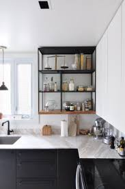 styling tricks for open kitchen shelves apartment therapy