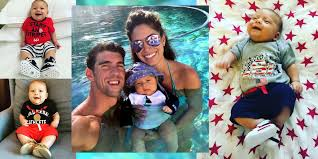 Baby Headphones Meme - boomer son of michael phelps is the baby to watch in the olympic