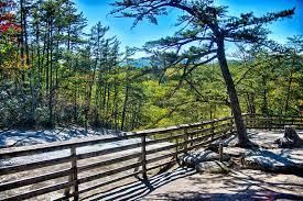 North Carolina scenery images Stone mountain north carolina scenery during autumn season stock jpg