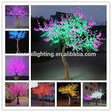 high quality outdoor wechat led twig christmas trees light up