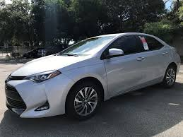 lexus north miami career new 2018 toyota corolla xle cvt 4dr car in miami c967192 toyota