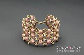 bracelet bead tutorials images Candy dots beading tutorial sidonia 39 s beads jpg