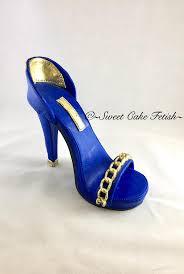 high heel cake topper custom gumpaste high heel shoe cake topper fondant shoe topper