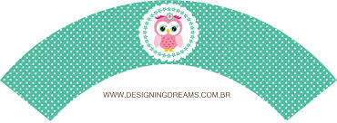 sweet 16 pink owl in green backgrounds with polka dots free