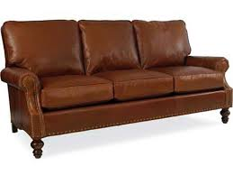 Peyton Leather Sofa Cr Living Room Peyton Leather Sofa L6990 Hickory Furniture